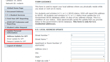 OPT Reporting Step 4