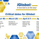 Deadlines for iGlobal