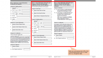 Applying for OPT: Pages 5 and 6